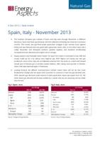 Spain, Italy - November 2013 cover image