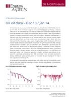 UK oil data – Dec 13 / Jan 14 cover image