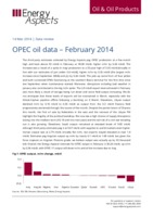 OPEC oil data – February 2014 cover image