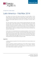 Latin America gas data – Feb/Mar 2014 cover image