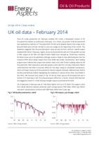 UK oil data – February 2014 cover image