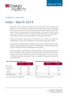 India gas data - March 2014 cover image