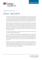 China gas data – April 2014 cover image
