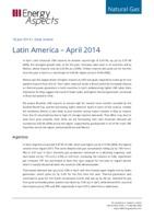 Latin America gas data – Apr 2014 cover image