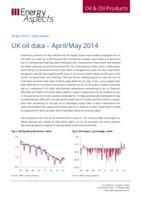 UK oil data – April/May 2014 cover image