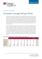 European storage and gas flows cover image