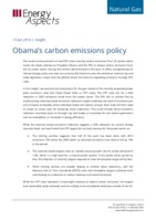 Obama's carbon emissions policy cover image