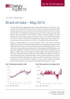 Brazil oil data – May 2014 cover image