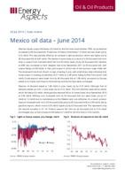 Mexico oil data – June 2014 cover image