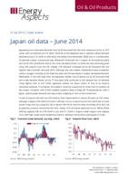 Japan oil data – June 2014 cover image