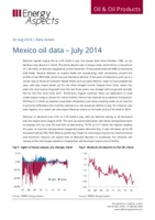 Mexico oil data - July 2014 cover image