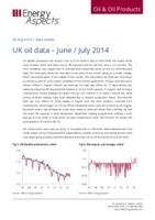 UK oil data – June/July 2014 cover image