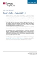 Spain, Italy – August 2014 cover image