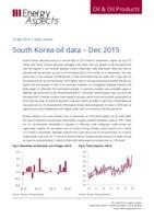South Korea oil data - Dec 2015 cover image