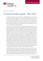 US oil and shale output - Nov 2014 cover image
