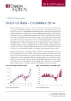 Brazil oil data - December 2014 cover image