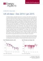 UK oil data – Dec 14 / Jan 15 cover image