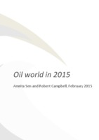 Crude oil presentation (IP Week reception 2015) cover