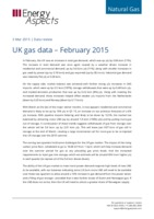 UK gas data – February 2015 cover image