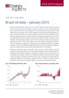 Brazil oil data – January 2015 cover image