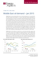 Middle East oil demand - Jan 2015 cover image