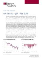 UK oil data – Jan / Feb 2015 cover image