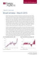 Brazil oil data – March 2015 cover image
