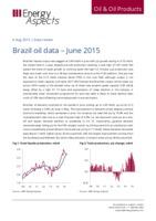 Brazil oil data – June 2015 cover image