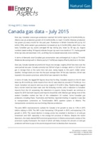 Canada gas data - July 2015 cover image