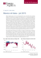 Mexico oil data - July 2015 cover image