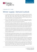 Winter supply / demand outlook cover image