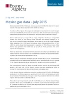 Mexico gas data - July 2015 cover image