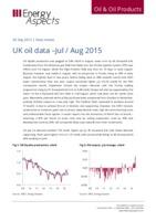 UK oil data – Jul / Aug 2015 cover image