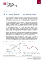 Borrowing bases, borrowing time cover