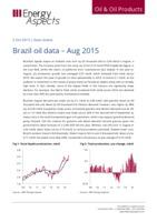 Brazil oil data – Aug 2015 cover image