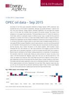 OPEC oil data – September 2015 cover