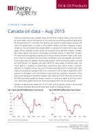 Canada oil data – Aug 2015 cover image