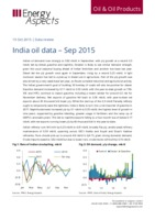 India oil data – Sep 2015 cover image