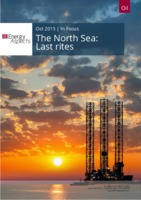 The North Sea - Last rites cover