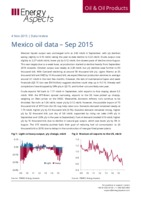 Mexico oil data - September 2015 cover image