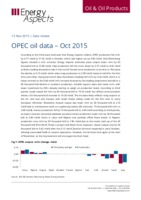 OPEC oil data - Oct 2015 cover image