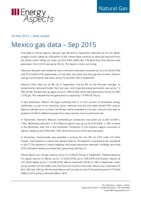 Mexico gas data - September 2015 cover image