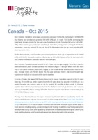 Canada gas data - October 2015 cover image