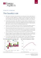 The Saudis rule cover image