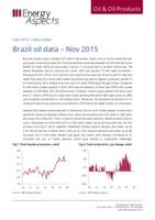 Brazil oil data - Nov 2015 cover image
