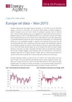 Europe oil data – Nov 2015 cover image