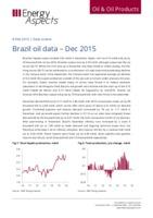 Brazil oil data - Dec 2015 cover image