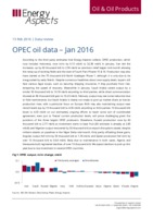 OPEC oil data – Jan 2016 cover