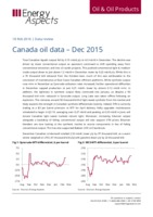 Canada oil data - Dec 2015 cover image