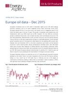 Europe oil data – Dec 2015 cover image